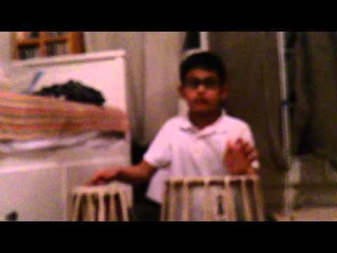 Nayans magnificent teaching skills on tabla