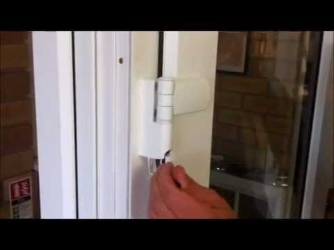 How to set up chelworth windows upvc french doors youtube for Upvc french door hinges
