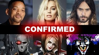 Suicide Squad Movie 2016 Cast Confirmed! Beyond The