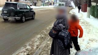 Familia Grigorev deja circulă cu transport public