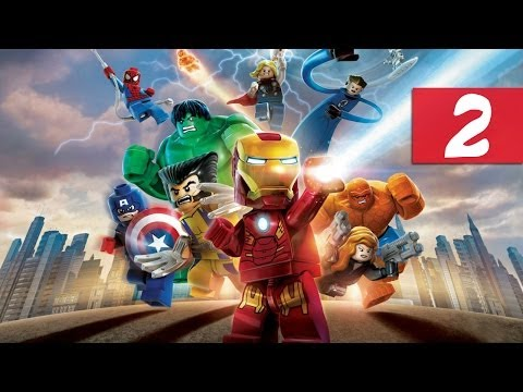Lego Marvel Super Heroes - Walkthrough - Part 2 - The Fantastic Teapot