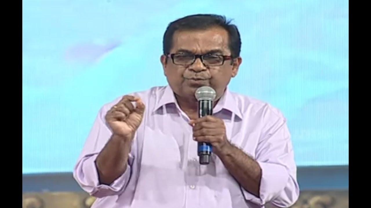 brahmanandam funny speech alludu seenu audio launch   samantha srinivas dsp v v vinayak