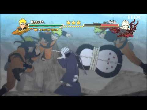 Naruto Shippuden: Ultimate Ninja Storm 3: Full Burst - Tobi (Obito Uchiha) Boss Battle [Final] HD