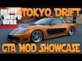 """""""GTA 5 Mod"""" Tokyo Drift Mod - DRIFTING MOD (""""GTA Mod Showcase"""")"""