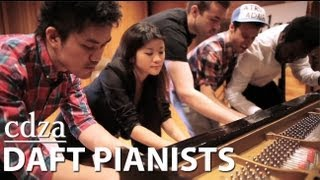 Daft Pianists (Get Lucky Cover)