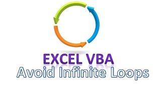 How To Avoid Infinite Loops Disable Events In Excel VBA