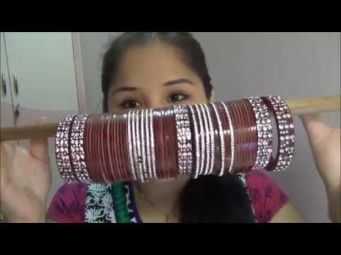 Mi coleccion de Brazaletes / Indian bangles colection