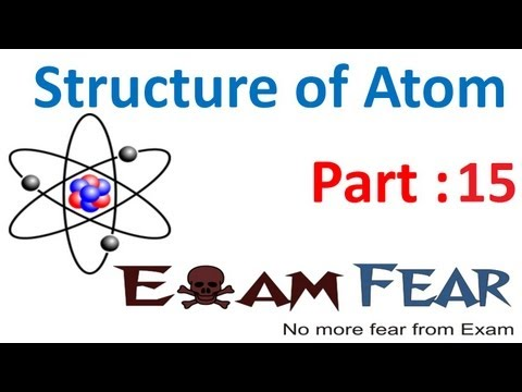 Chemistry Structure of Atom part 15 (Photoelectric effect:particle nature of electron) CBSE class 11 -WfGAe52NwnY