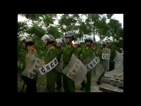 Công An đàn áp, cưỡng chê đất - Dân làng Trịnh Nguyễn quyết đòi lại đất