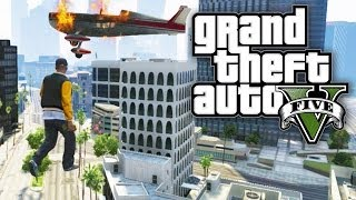 GTA 5 FUN WITH CHEATS AIR WALKING! (GTA V Cheat Codes