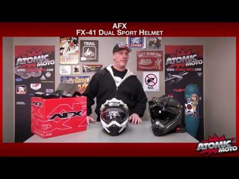 AFX FX-41 Helmet Review by Atomic-Moto