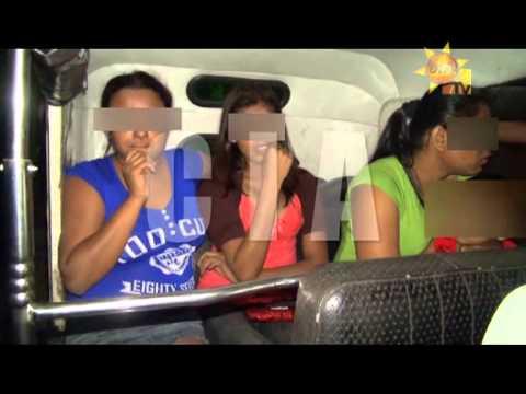 Hiru TV News CIA | Mobile Prostitute Raid | 2013-03-04