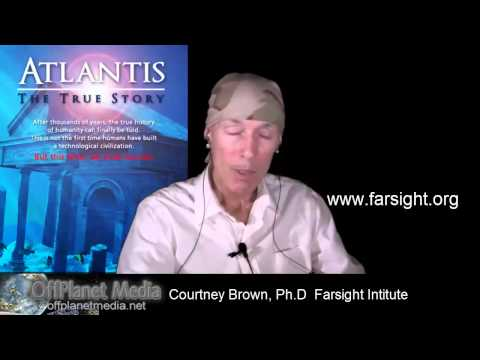 Courtney Brown-Part 2:  Remote Viewing Atlantis