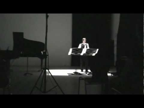Worksong by C. LAUBA, saxophone: David Cristóbal Litago