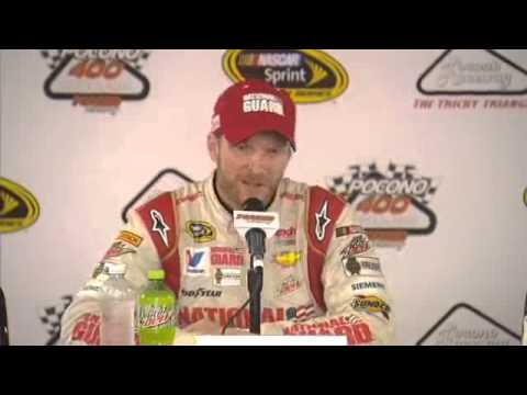 Dale Earnhardt Jr. On His First Win at Pocono