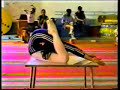 Very flexible gymnastic