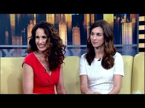 Andie MacDowell and daughter Rainey Qualley