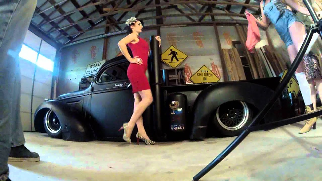Rat Rod Pin Up Shoot Behind The Scenes Youtube