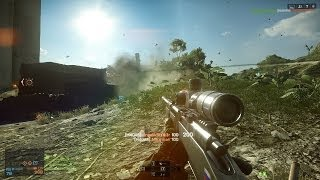 I AM A SNIPER! BF4 Sniper Kill Streak! (Battlefield 4 Launch)