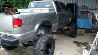 S10 ZR2 ALL JACKED UP, 4X4 Full Size Ford Rear Ends