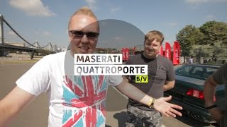 Maserati Quattroporte - Большой тест-драйва (б/у) / Big Test Drive