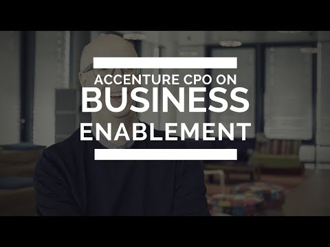 Accenture CPO on Business Enablement