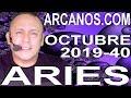 Video Horóscopo Semanal ARIES  del 29 Septiembre al 5 Octubre 2019 (Semana 2019-40) (Lectura del Tarot)