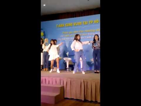 [Clip xôn xao] Hoàng Yến Chibi may mắn được nhảy Roly Poly cùng T-Ara