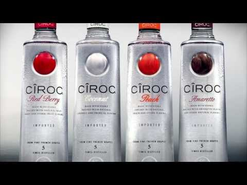Ciroc Amaretto Logo Introducing Cîroc Amaretto