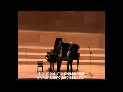 Konzertstück. P. Hindemith. Claude Delangle and Mariano García.