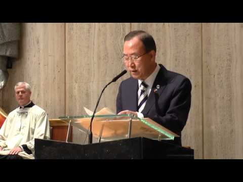 Ban Ki-moon Speech at UN Prayer Service 2013