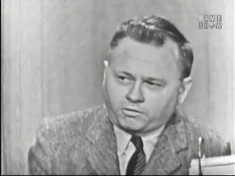 What's My Line? - Mickey Rooney; Martin Gabel [panel] (May 5, 1957)