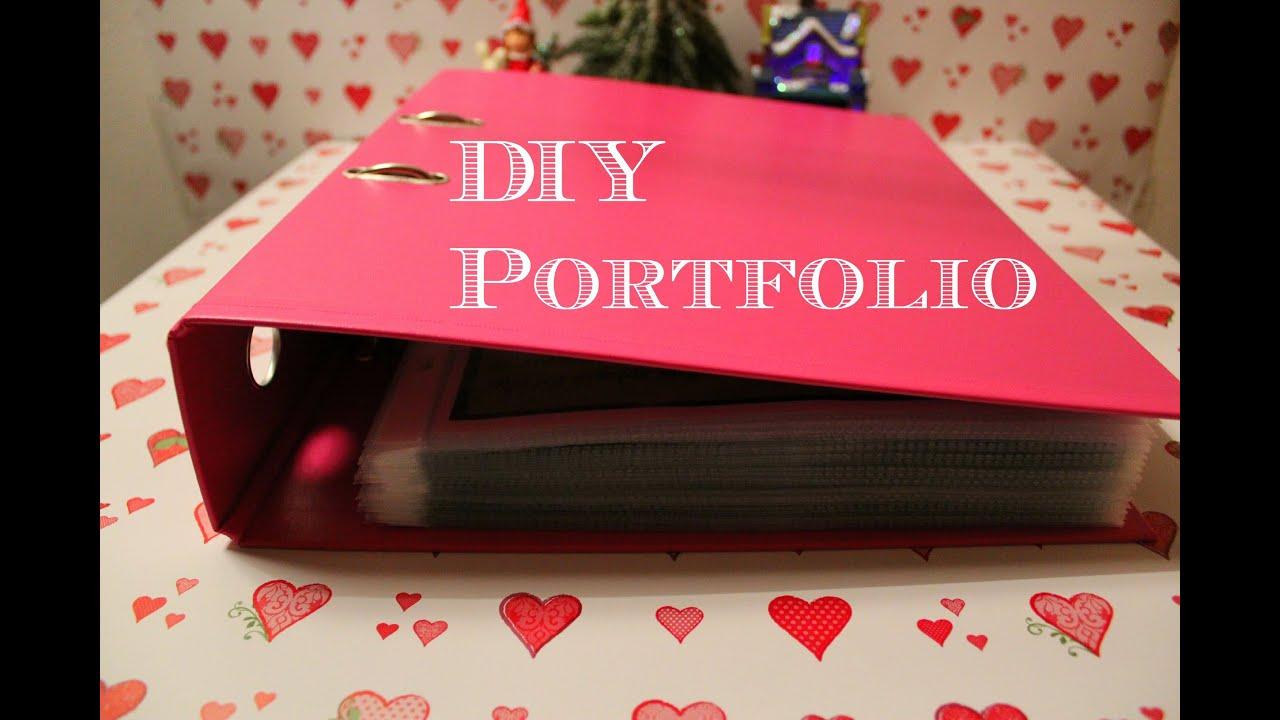 Diy portfolio youtube for Cosmetology portfolio template