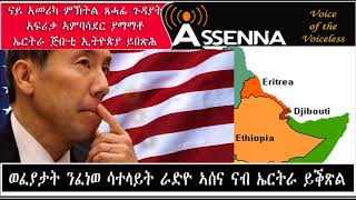 <VOICE OF ASSENNA: News - US Under Secretary of African Affairs Amr Yamamoto visits Horn of Africa