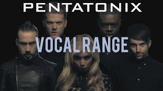 Pentatonix Vocal Range | D1 - B7 | HD