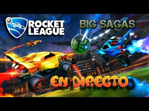 Rocket League vamos por ese oro!!!-- gameplay en español!!!