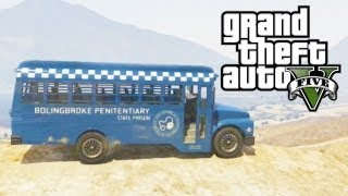 "GTA 5 Secret Cars ""Prison Bus"" (GTA V)"