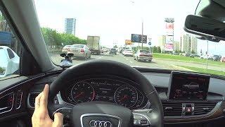 2017 Audi A6 (C7) 2.0 TFSI Quattro S tronic POV Test Drive. MegaRetr