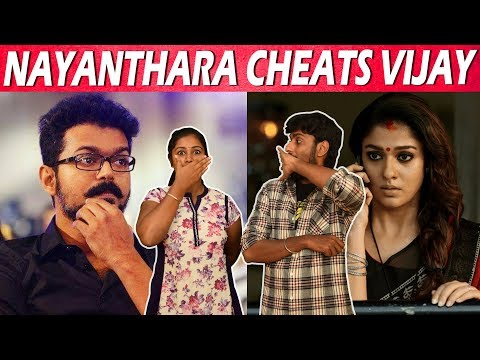 Nayanthara Cheats Vijay - VJTamizh - VJSindhuja - CinebillaTV
