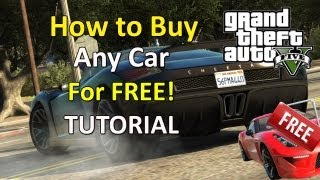 How To Buy Any Car For Free In GTA 5 Trick!