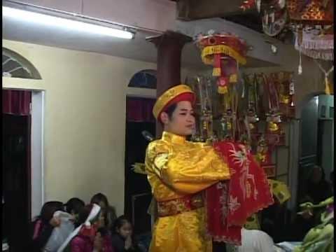 Cậu Lương Ninh Bình hầu Thánh - Trình đồng tiễn căn Đền Mẫu Thượng Lừ (p1)