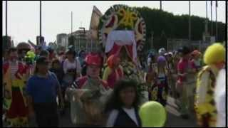 Raw: Clowns Make Pilgrimage to Mexican Basilica