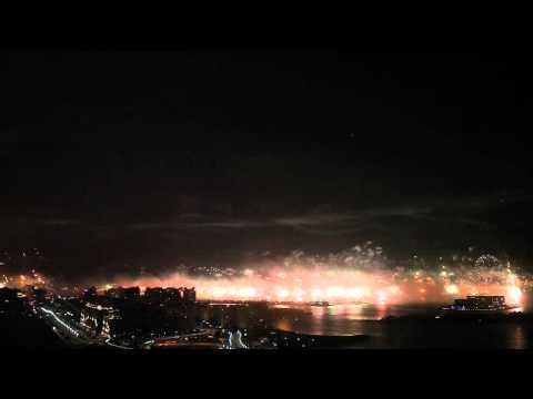 Video: Dubai attempts world record with fireworks display