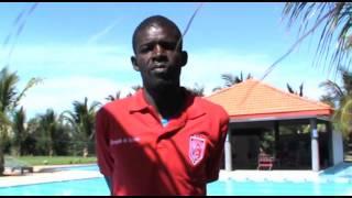 Khadim Ndiaye, nouveau gardien de but du Horoya AC (Guinee)