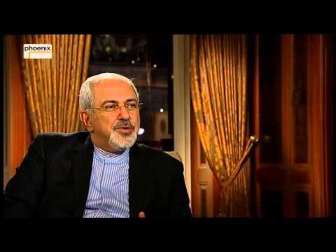 Kamingespräch (englisch) - Elmar Theveßen mit Mohammad Javad Zarif vom 02.02.2014