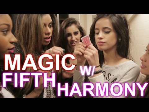 CRAZY MAGIC w/ FIFTH HARMONY | Collins Key, Camila Cabello, Lauren, Dinah-Jane, Normani, Ally Brooke