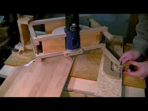 Pantograph Routing Drawer Handles