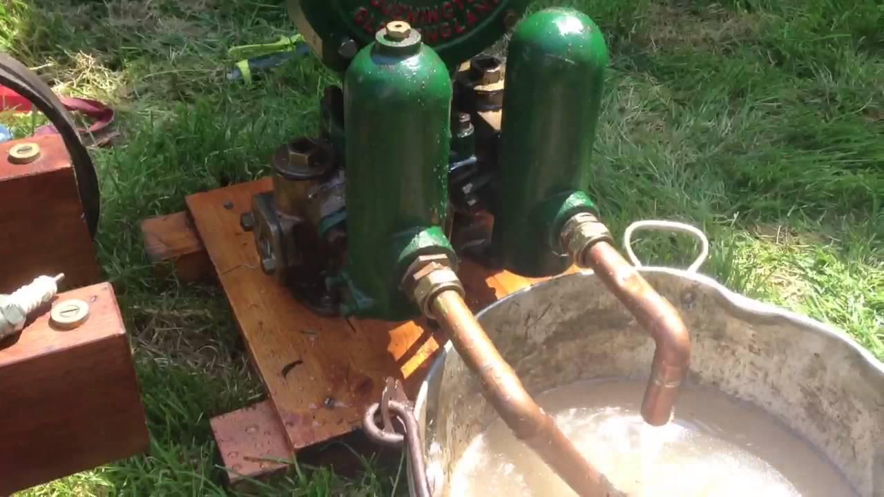 Lister D Driving A 12v Dynamo And Godwin A1e Water Pump