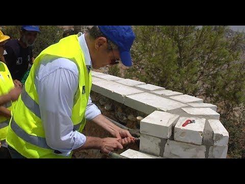 في يوم الشباب: الاتحاد الأوروبي يوصل المياه الى قرية الشباب في كفر نعمة
