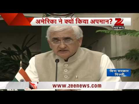 Salman Khurshid on Devyani Khobragade's arrest